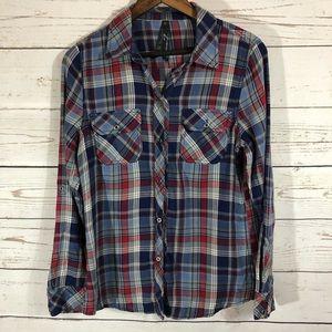 Seven7 Flannel. Button down Flannel